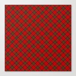 Tartan Plaid  Pattern Canvas Print