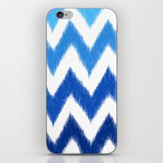 Ombre Ikat Chevron  iPhone & iPod Skin