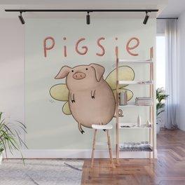 Pigsie Wall Mural