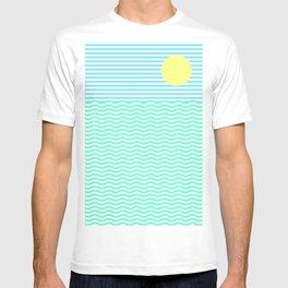 Coastline (Sunrise Blue) T-shirt