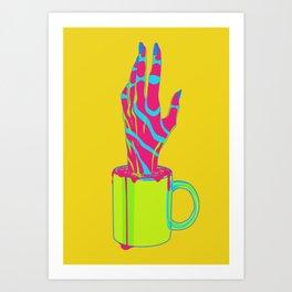 Experimental Brew Art Print