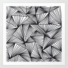 TriangleAngle Art Print