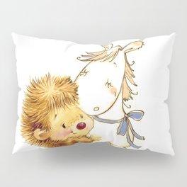 Baby Hedgehog Hedgie Pony Horse Nursery Room Pillow Sham