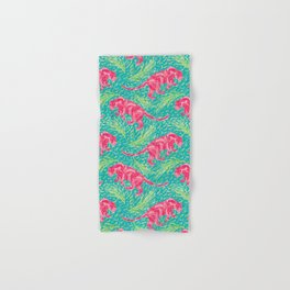 Pink Panther Jungle Scape Hand & Bath Towel