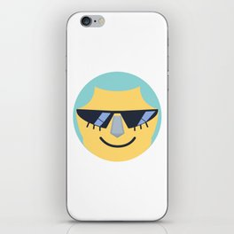 Franky Emoji Design iPhone Skin