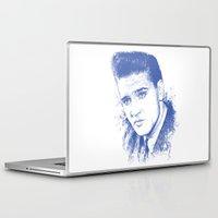 elvis presley Laptop & iPad Skins featuring Elvis Presley by Chadlonius