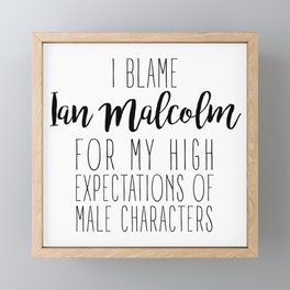 High Expectations - Ian Malcolm Framed Mini Art Print