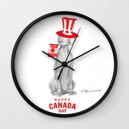 CANADA DAY WEIM Wall Clock