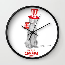 CANADA DAY WEIM Wall Clock