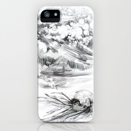 Another Boat Motor Casualty iPhone Case