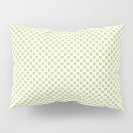 Daiquiri Green Polka Dots Pillow Sham