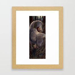 Kelpie & His Lady Framed Art Print