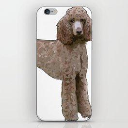 Elegant Poodle iPhone Skin