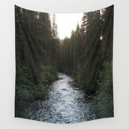 A Forest Path Wall Tapestry