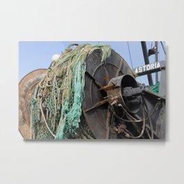 Astoria Fishing Boat Metal Print