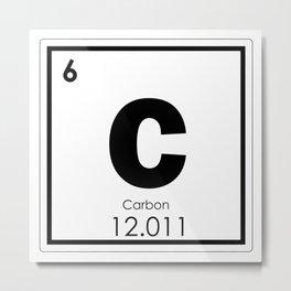 Carbon Metal Print