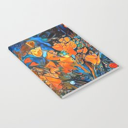Golden Poppies in the Wind Notebook