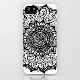 Mistletoe-Black iPhone Case