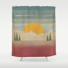 Day in the Forest Shower Curtain