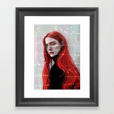 Beautiful Hell Framed Art Print