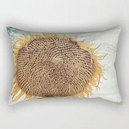 Bold Sunflower Rectangular Pillow