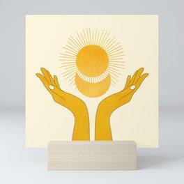 Holding the Light Mini Art Print