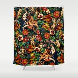 HERA and ZEUS Garden Shower Curtain