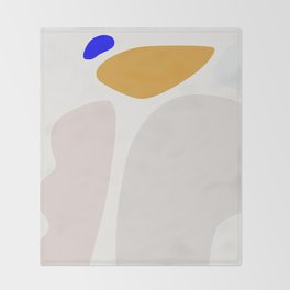 Abstract Shape Series - Arch Throw Blanket