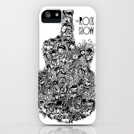 The Rock Show iPhone Case