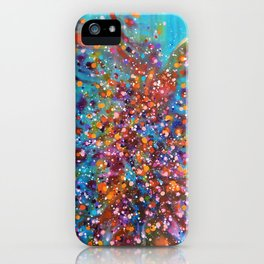 A Dance with Time and Space iPhone Case