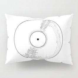 Record Label Sketch Pillow Sham