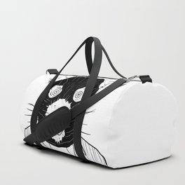 it's a stick up Duffle Bag