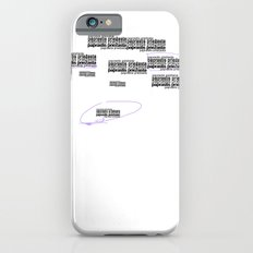 Twomblish wall of words iPhone 6s Slim Case