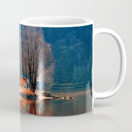 Gone fishing | waterscape photography Coffee Mug