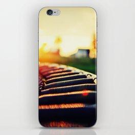 Trampoline iPhone Skin