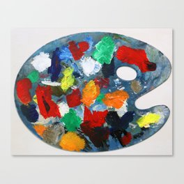 The Artist's Palette Canvas Print