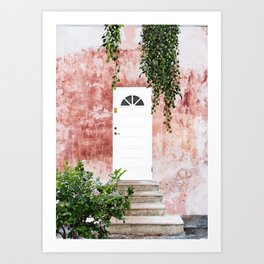 Remember, the entrance door to the sanctuary is inside you #travel Art Print
