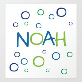 Noah Art Print