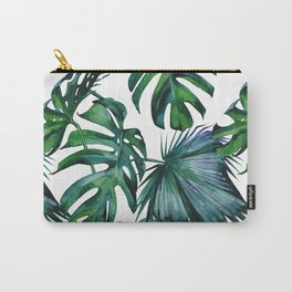 Tropical Palm Leaves Classic II Carry-All Pouch