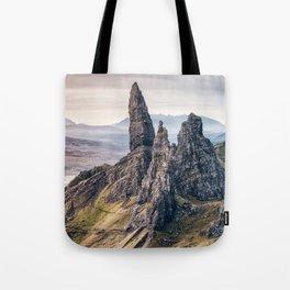 Old Man of Storr, Isle of Skye, Scotland Tote Bag