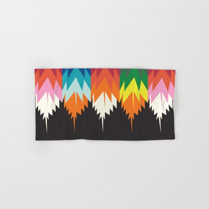 American Native Pattern No. 123 Hand & Bath Towel