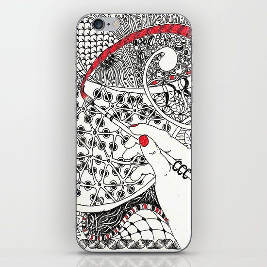Red Line iPhone & iPod Skin