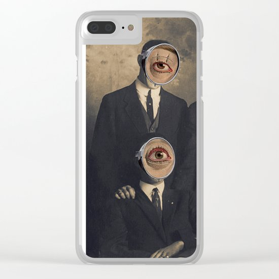 MEMBERS ONLY Clear iPhone Case