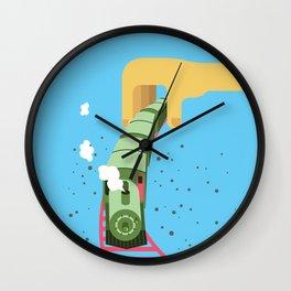My choo choo train Wall Clock