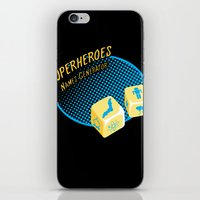 super heroes iPhone & iPod Skins featuring Super-Heroes-Name-Generator by sergio37