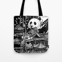 china Tote Bags featuring China by Matt Ferguson