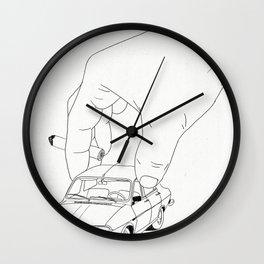 Driving home Wall Clock