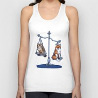 law Tank Tops featuring The Law by Elisa Gandolfo