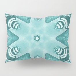 Magical Turquoise Mirror Pillow Sham