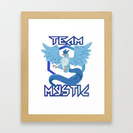 TEAM MYSTIC Framed Art Print